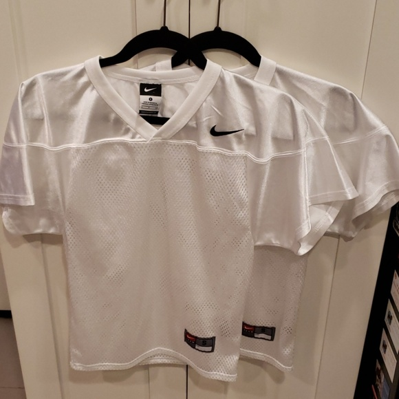best sneakers 262bf 9244e Bundle of 2 White Nike Football Practice Jerseys